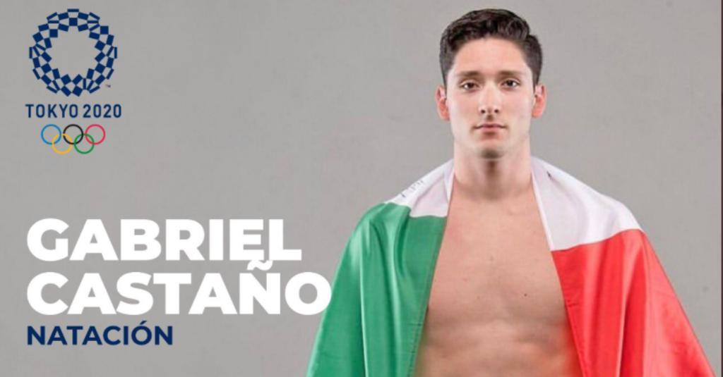 Gabriel Castaño consigue plaza de natación para México en los Juegos Olímpicos