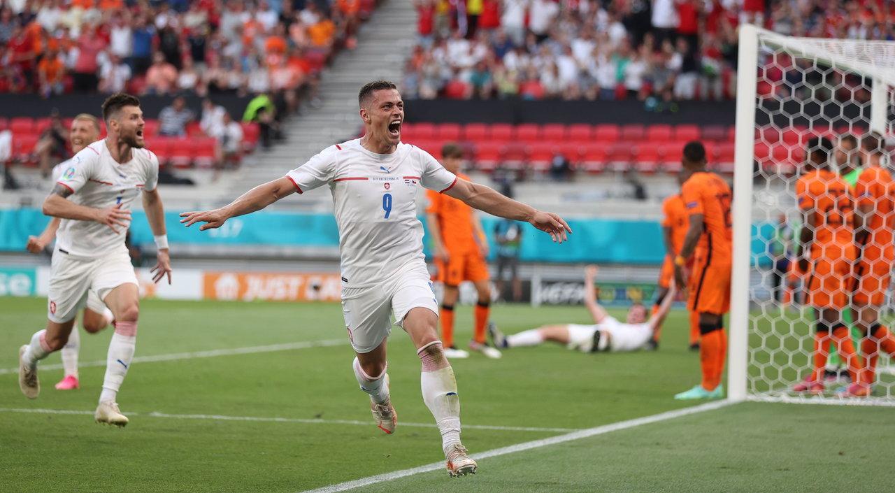 República Checa embosca a Holanda y avanza cuartos de final de la Euro 2020