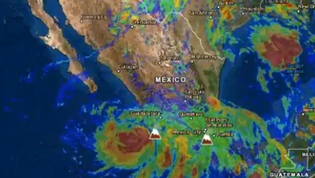 El huracán Enrique provoca el colapso de 207 viviendas en Guerrero