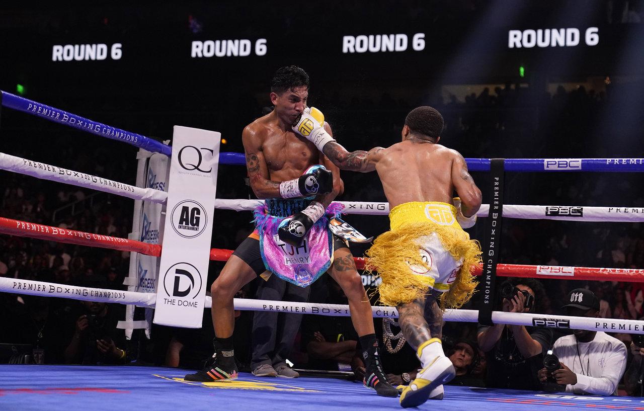 El boxeador Gervonta Davis demuestra su poder ante Mario Barrios