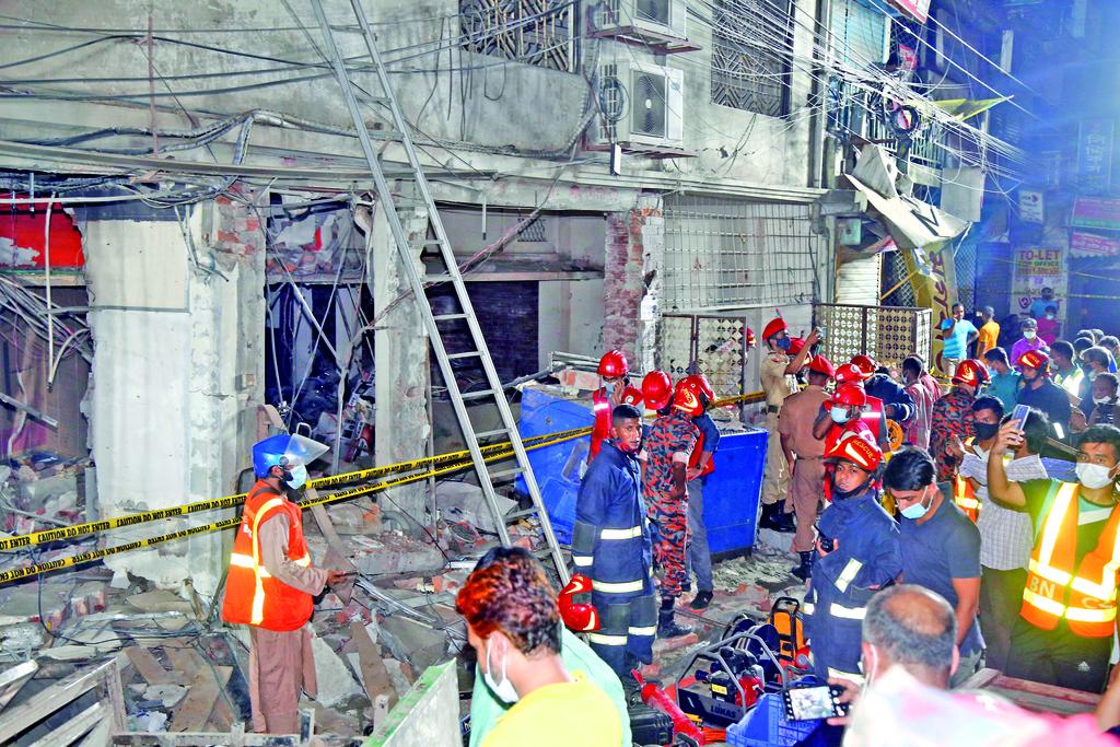 Explosión en Dacca deja siete muertos