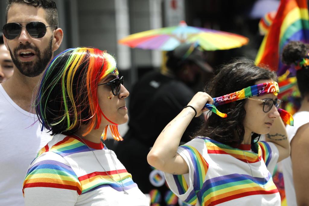 Celebran en calles de NY el día del Orgullo LGBTI