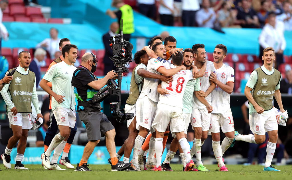 Lluvia de goles en el Croacia Vs. España en la Euro 2020; 'La Roja' va a cuartos de final