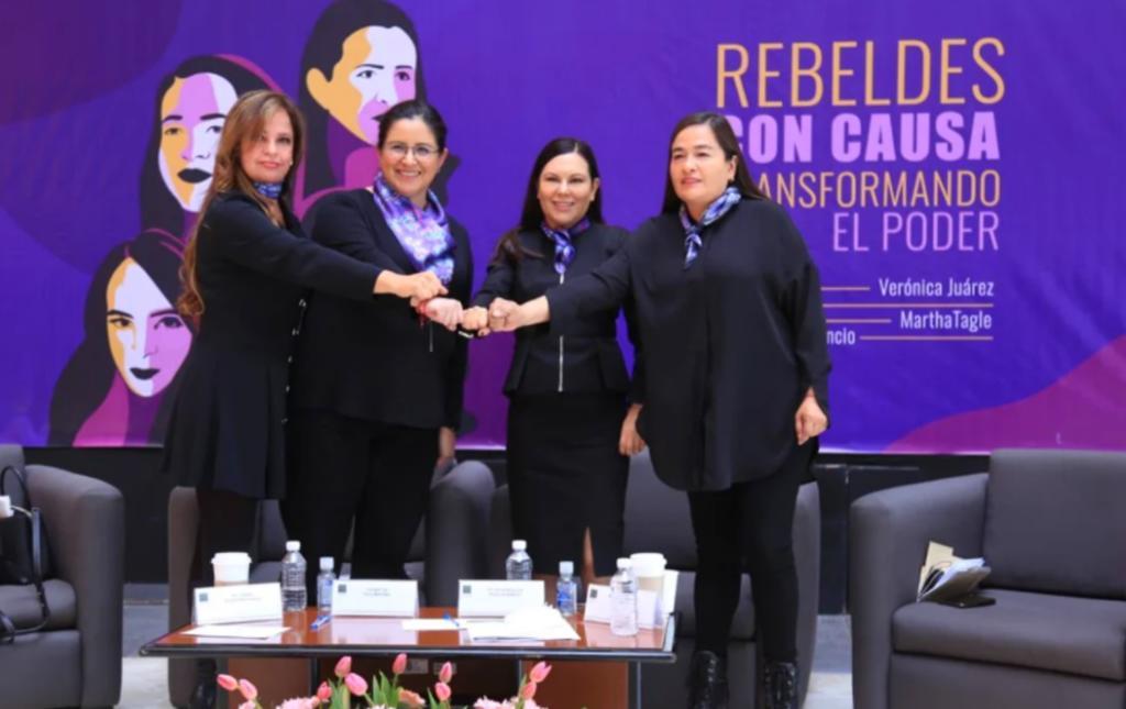 Diputadas de Movimiento Ciudadano, PAN, PRD y Morena presentan 'Rebeldes con Causa'
