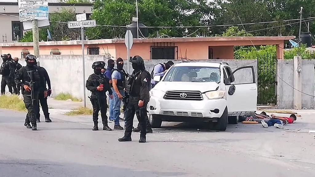 Persecución desata balacera en Reynosa