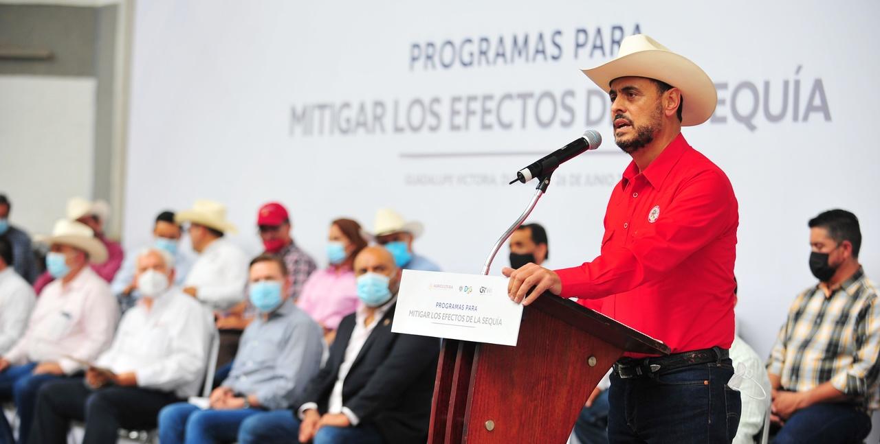 En unidad con Aispuro, lograremos un buen presupuesto para Durango: IHD