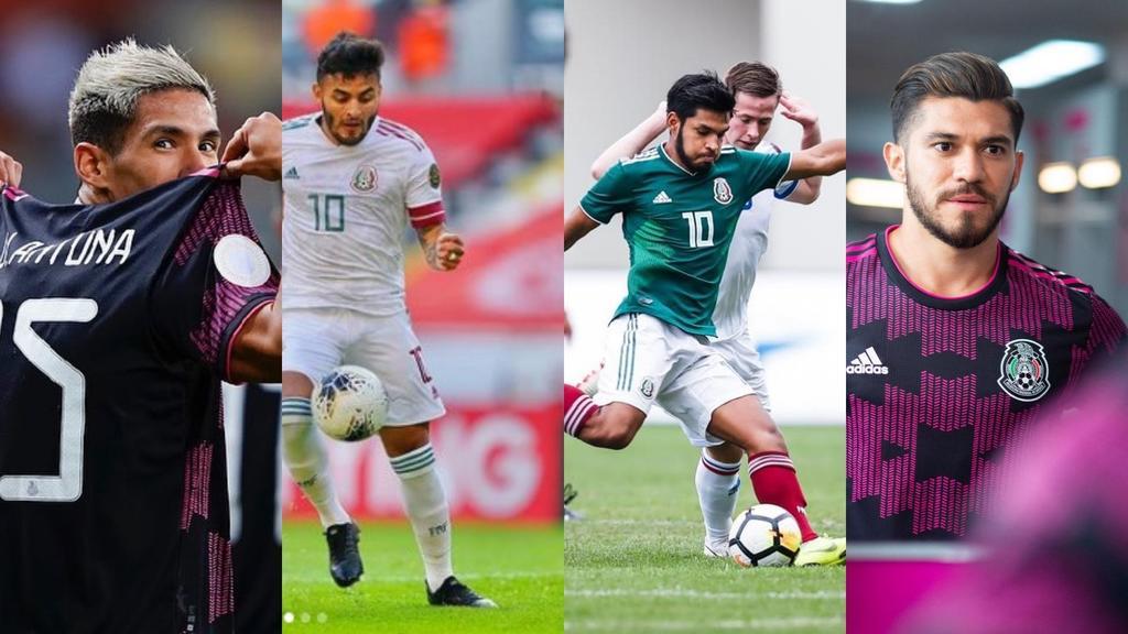 Selección Olímpica Nacional y los delanteros que formarían parte de la lista final