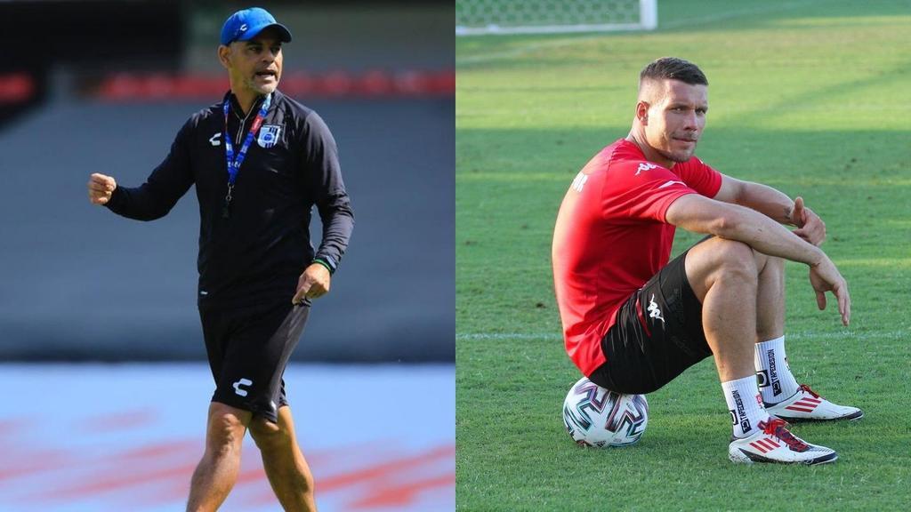 Héctor 'Pity' Altamirano no dirigirá a Lukas Podolski