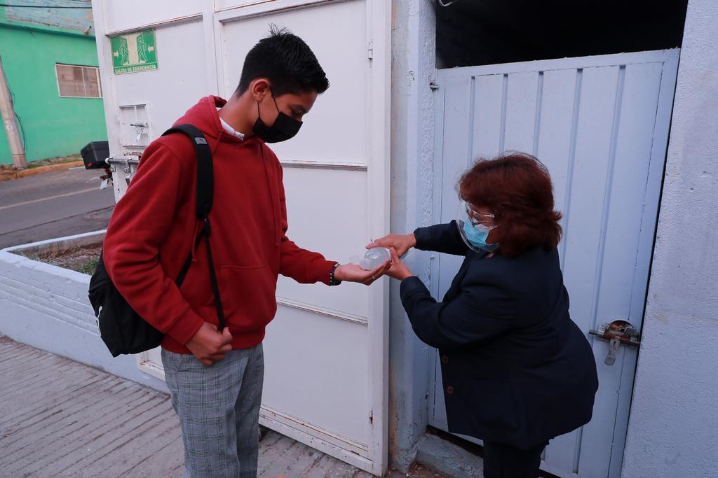 Escuelas de La Laguna de Durango que regresaron a clases no registran casos COVID