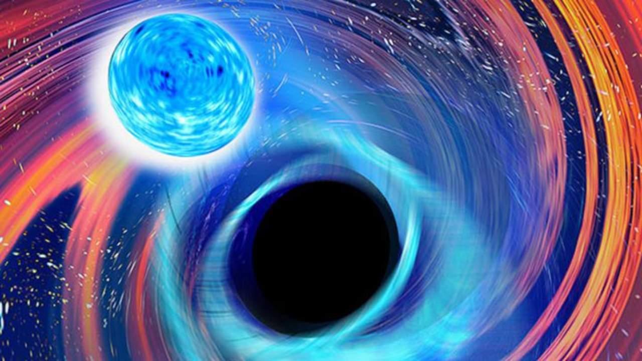 Cinetíficos detectan las primeras fusiones de agujeros negros con estrellas de neutrones