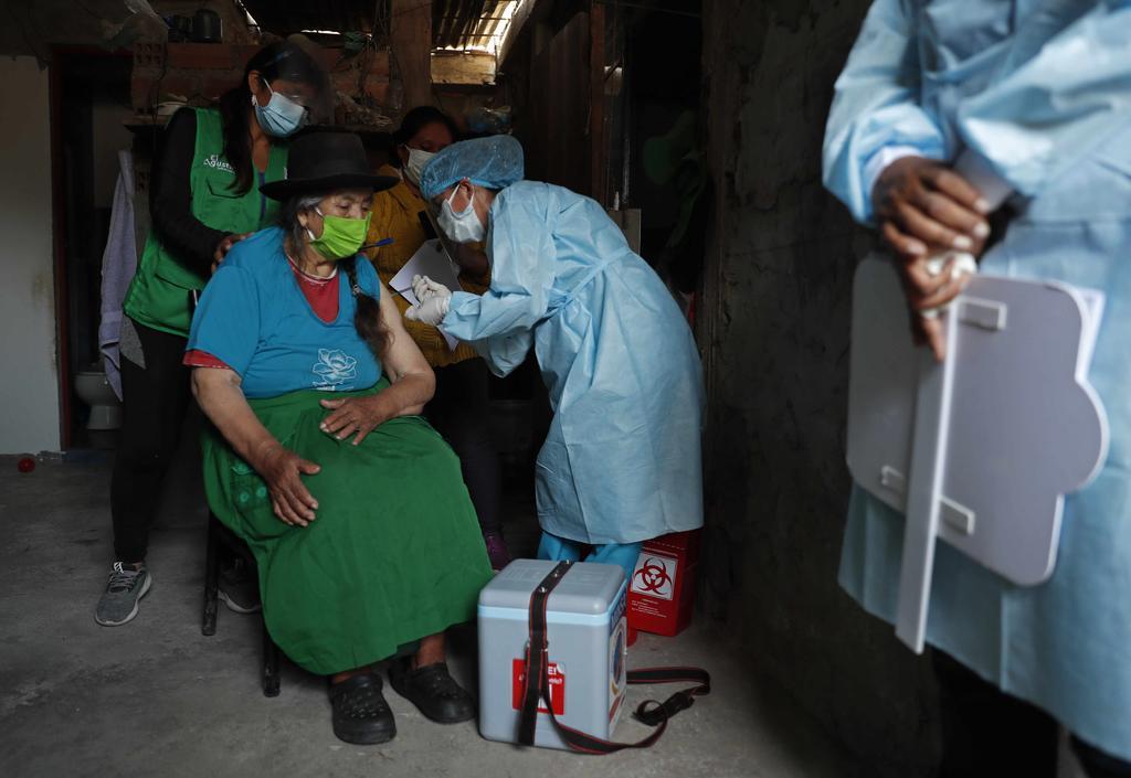 Perú acelera la vacunación contra el COVID-19; busca inmunizar a 8 millones de personas en julio