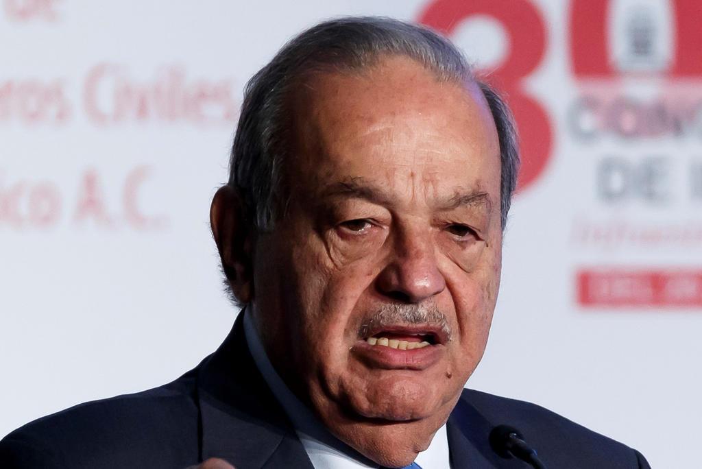Carlos Slim vuelve nuevamente a Palacio Nacional