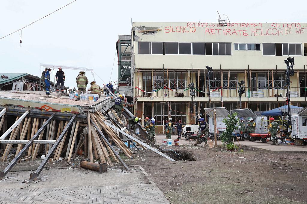 Director responsable de obra del Colegio Rébsamen es declarado culpable
