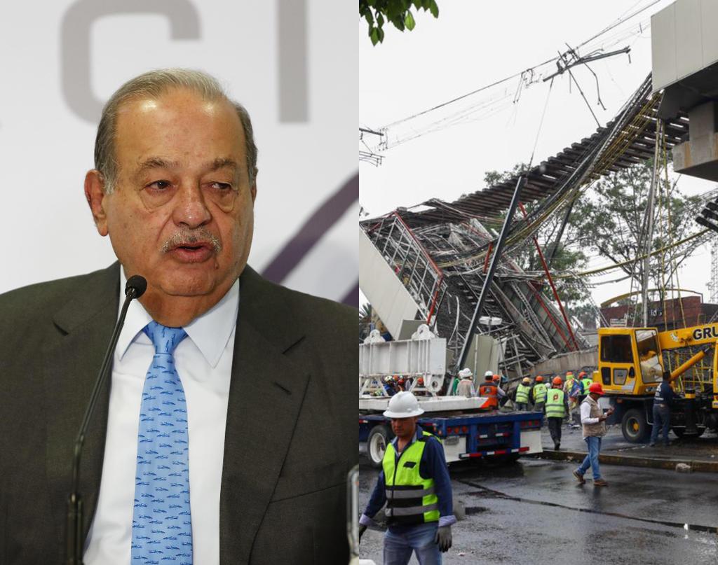 Slim asegura que Línea 12 del Metro en CDMX 'no tuvo vicios de origen'
