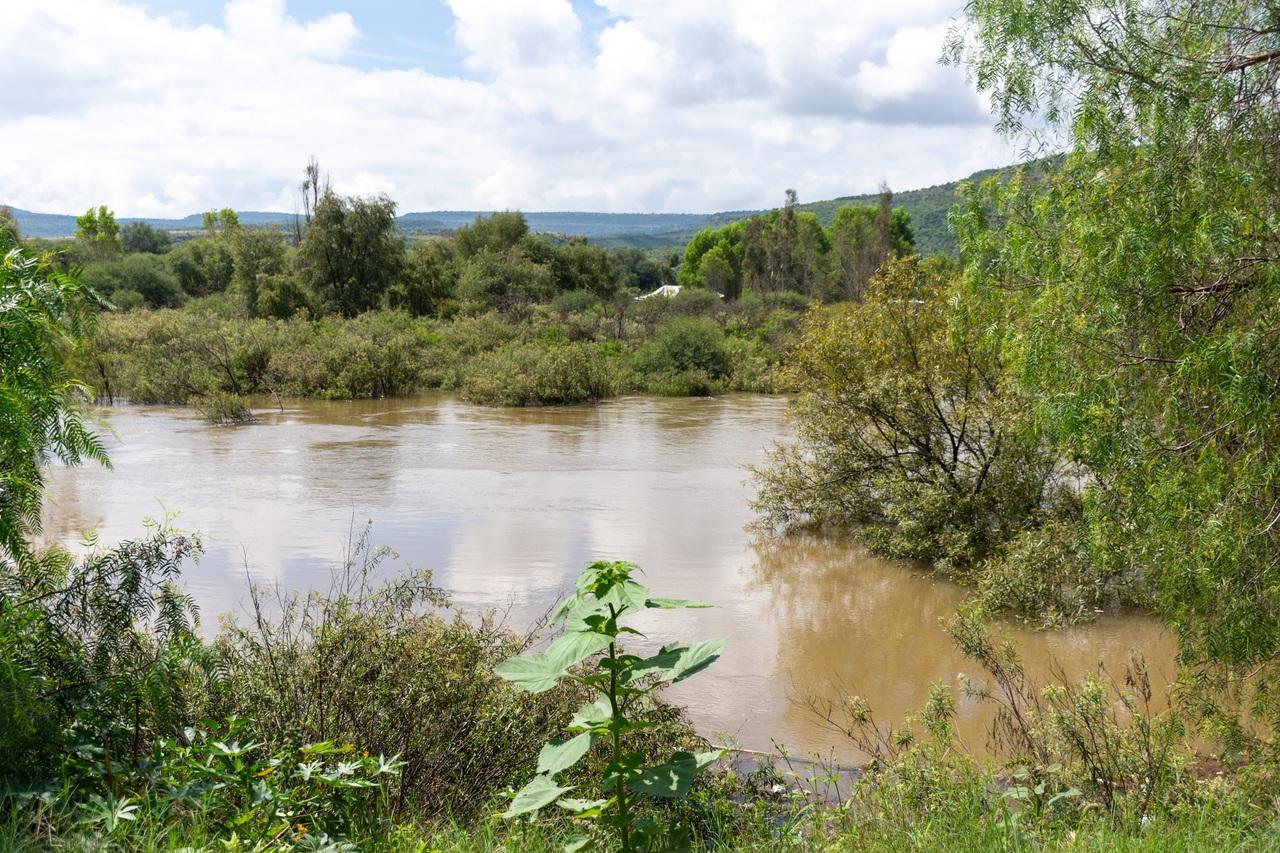 Vigilan poblados en riesgo por lluvia