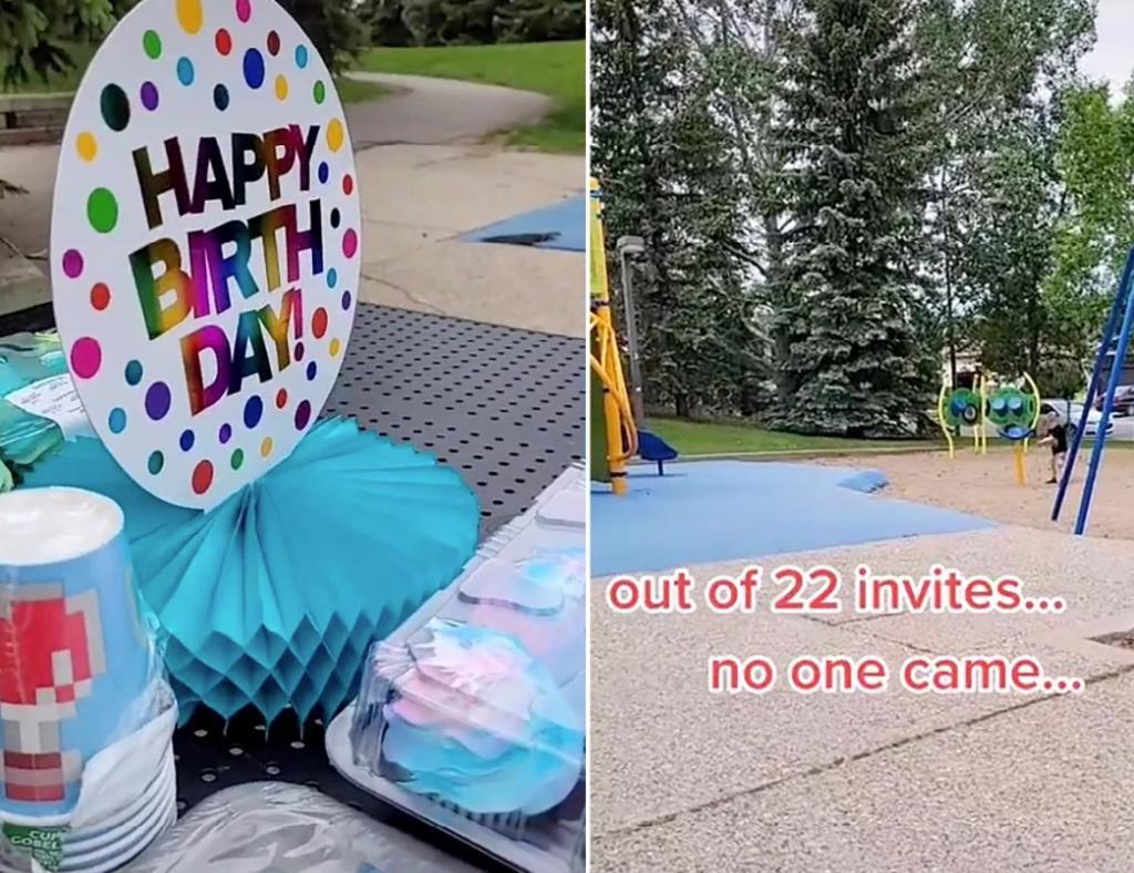 Niño pasa su sexto cumpleaños solo porque nadie llegó a su fiesta