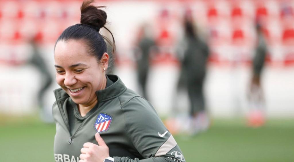Atlético de Madrid anuncia la salida de Charlyn Corral; apunta su llegada a la Liga MX