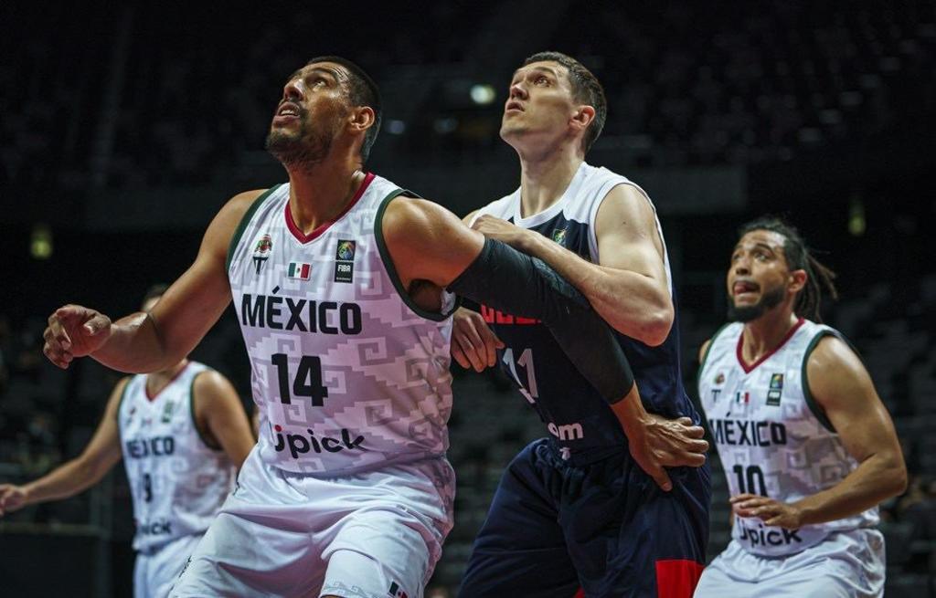 México clasifica a semifinales del preolímpico de baloncesto tras imponerse a Rusia