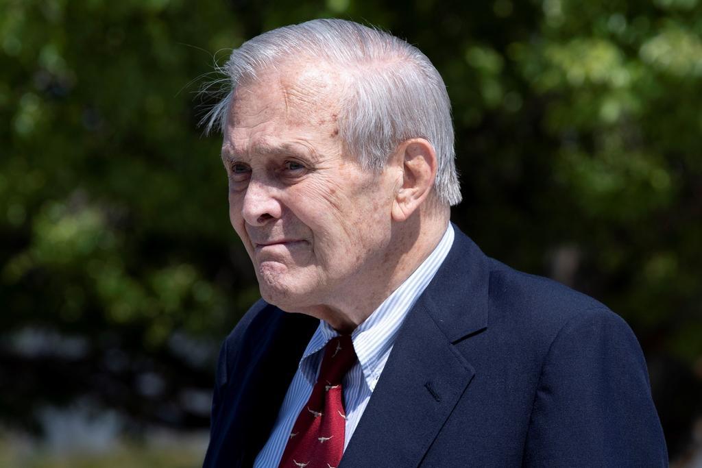 Muere a los 88 años Donald Rumsfeld, exsecretario de Defensa de EUA