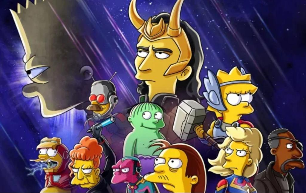 Los Simpson y Loki protagonizarán cortometraje