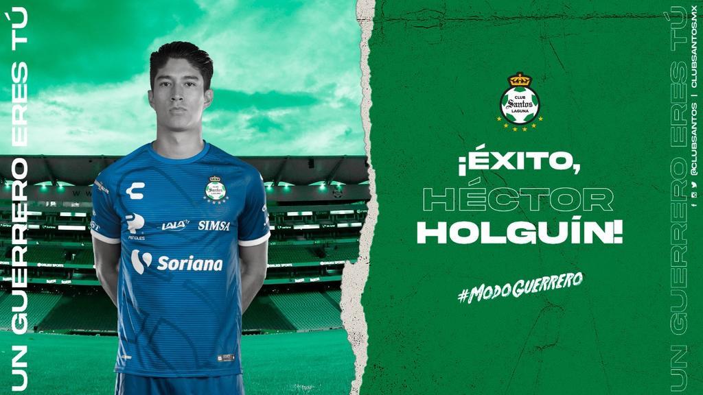 Santos Laguna transfiere a Héctor Holguín a la Jaiba Brava