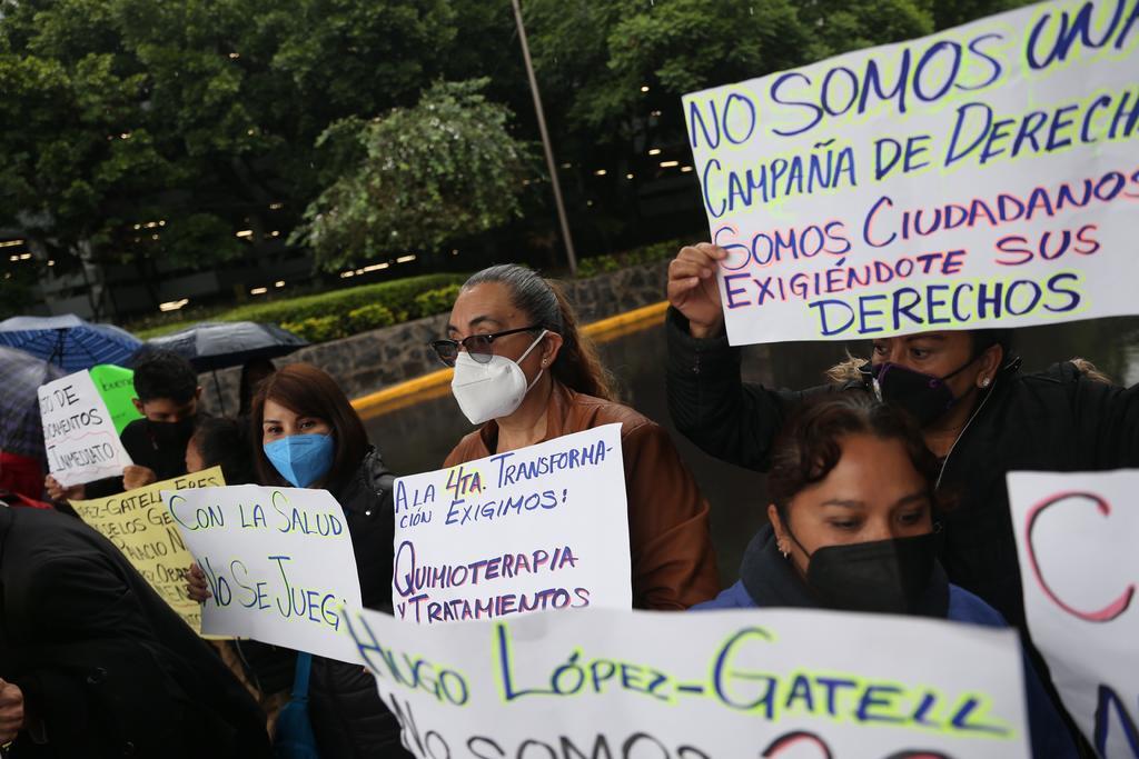 'Quimioterapias, cuestión de vida o muerte', sostienen padres de niños con cáncer en México
