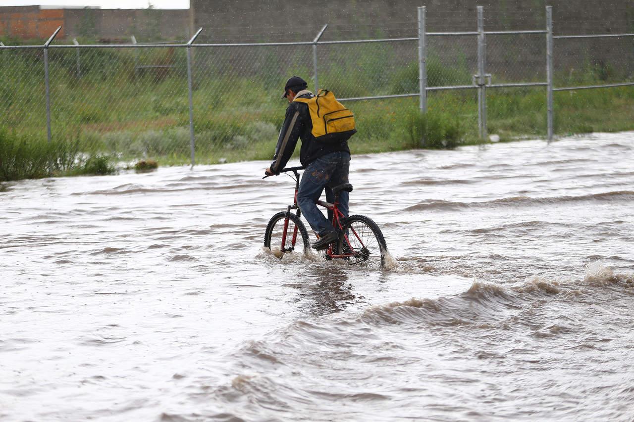 ¿Cuáles son las zonas con registro histórico de inundación en Durango capital?