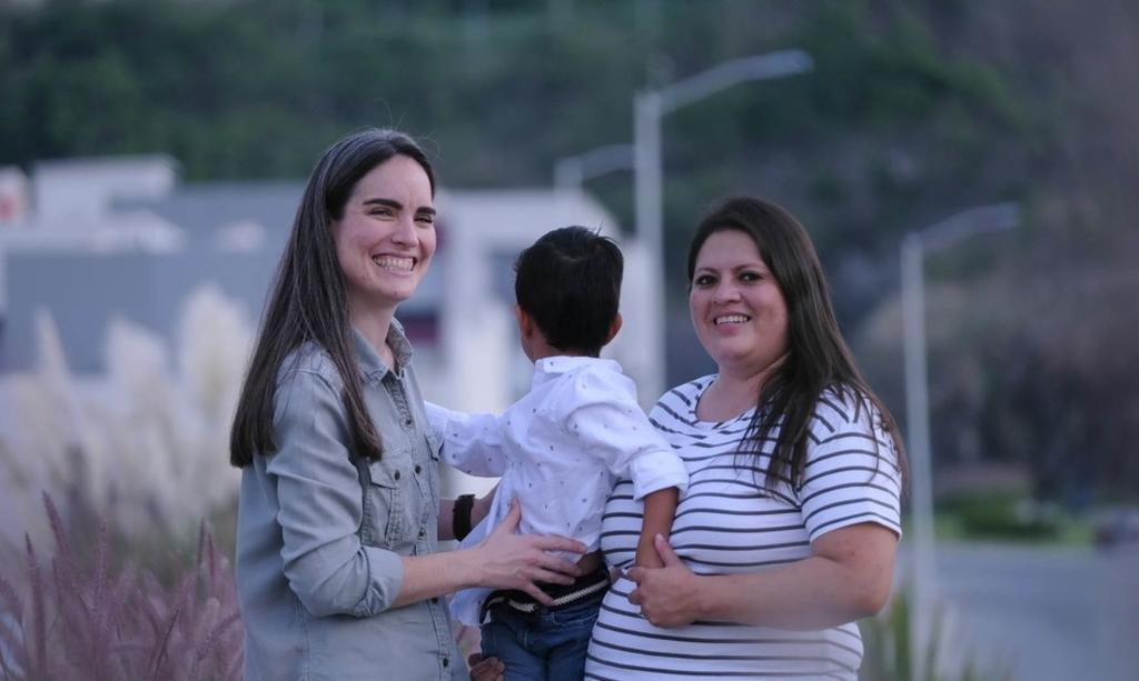 Family in Guadalajara makes history;  couple of women achieve adoption of a child