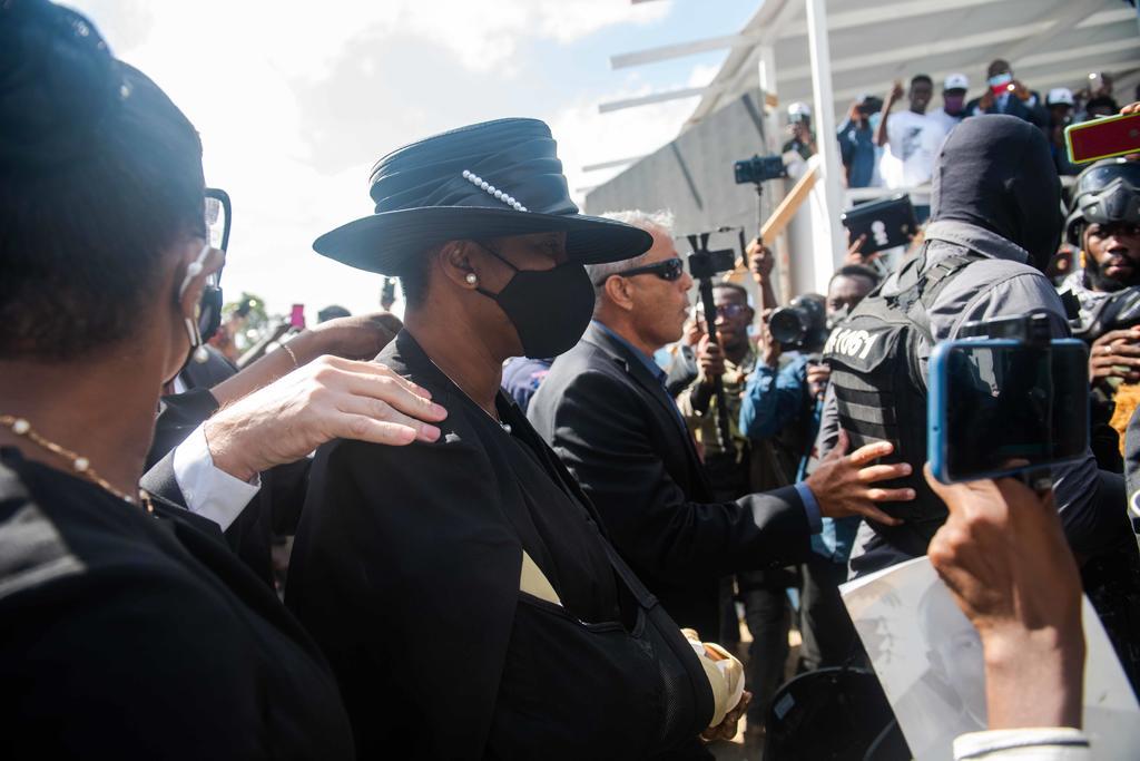 La primera dama de Haití afirma que el asesinado presidente fue traicionado