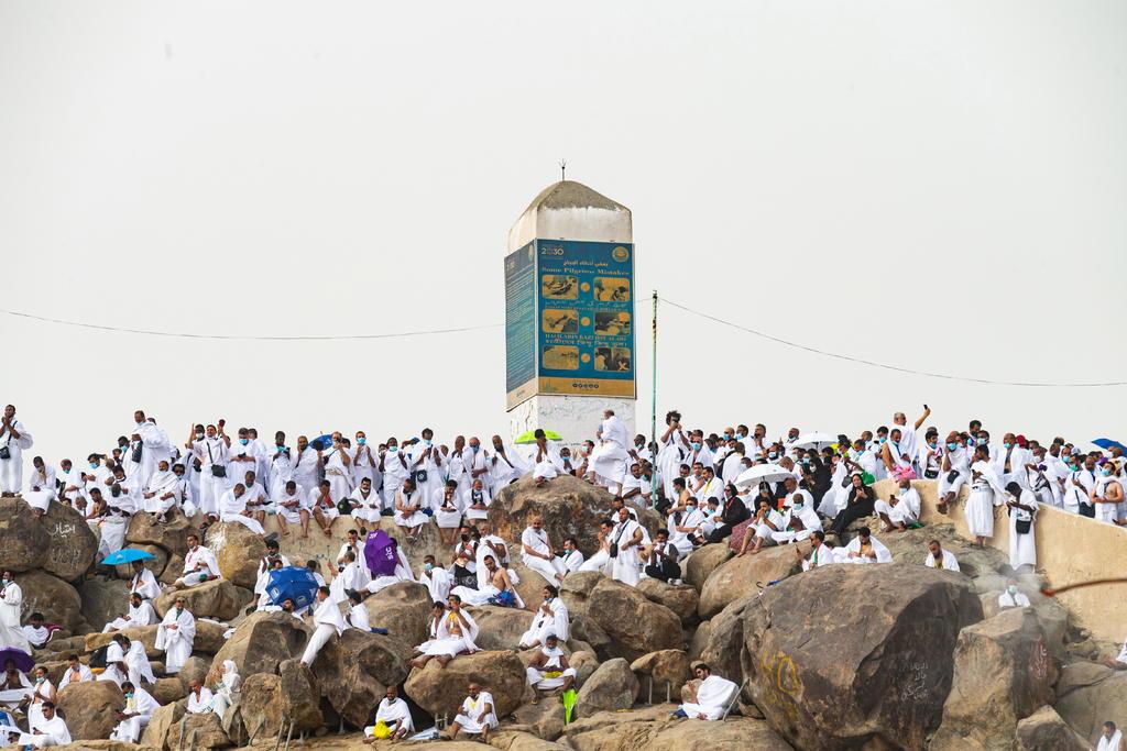 La peregrinación a La Meca termina sin casos de COVID-19 entre los 60 mil fieles