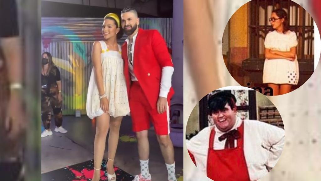 'Outfit' de Ángela Aguilar se convierte en meme de 'La Chilindrina' y 'La Popis'