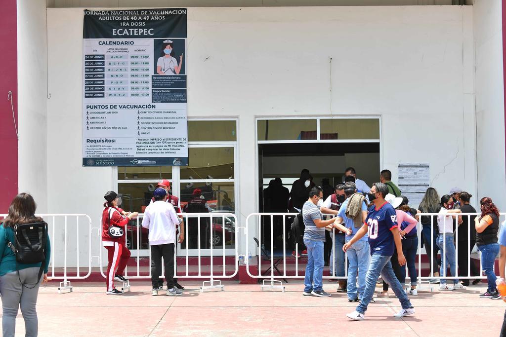 Ecatepec se declara en 'alerta máxima' por COVID y cercanía a CDMX