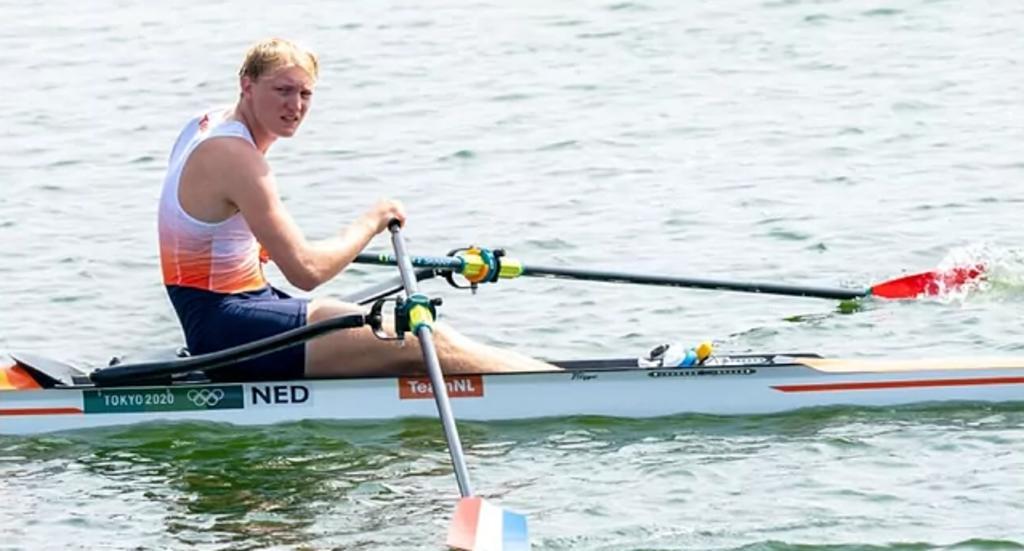 El COVID no deja de atacar a los Juegos Olímpicos; da positivo Finn Florijn, remero neerlandés que ya había competido