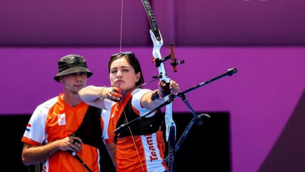Gabriela Bayardo también sube al podio de tiro con arco en los Juegos Olímpicos de Tokio 2020
