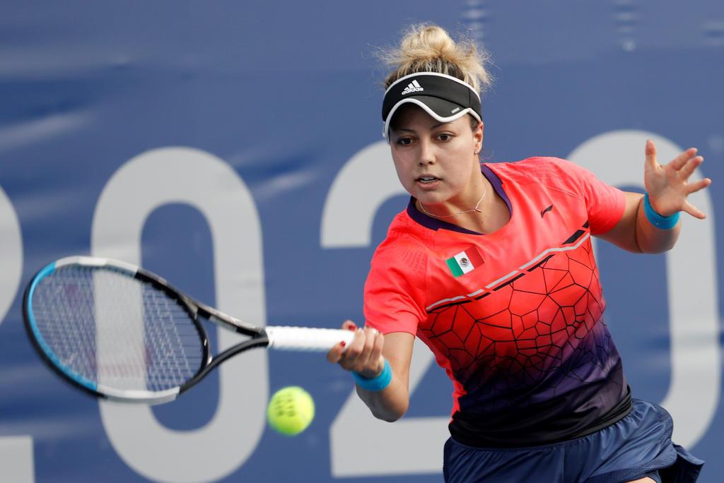 Tenista mexicana Renata Zarazúa queda fuera de los singles en Tokio 2020