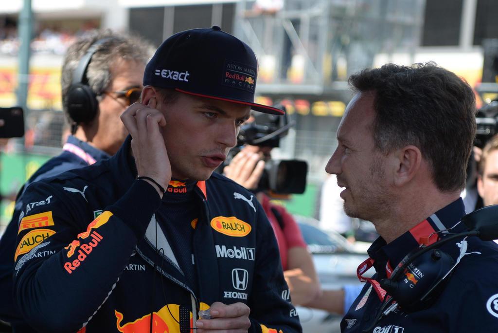 Lewis Hamilton recibió un castigo muy leve: Christian Horner sobre choque contra Max Verstappen