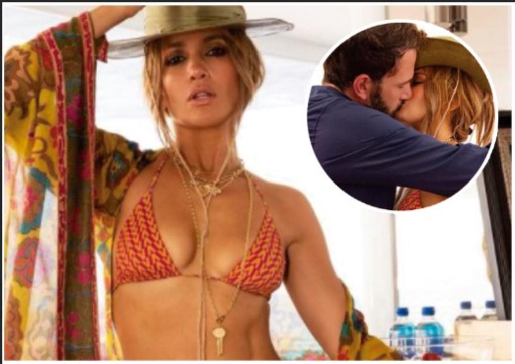 JLO celebra en bikini sus 52 años y hace oficial su romance con Ben Affleck