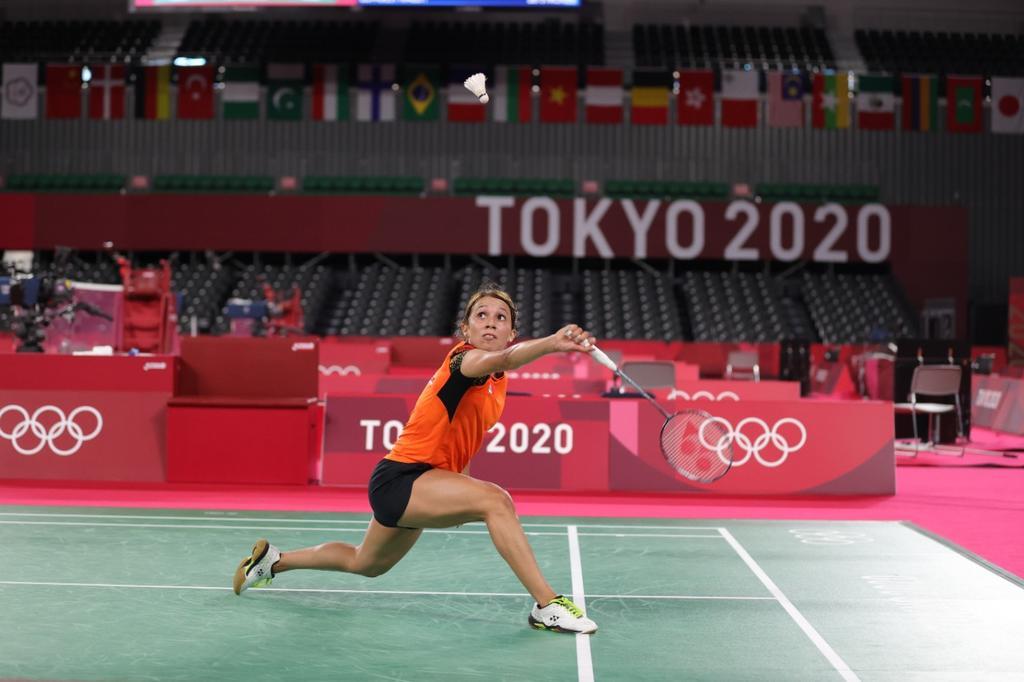 Mexicana Haramara Gaitán cae en su debut en bádminton en Tokio 2020