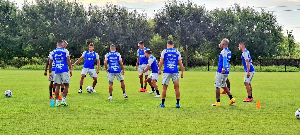 Selección de Honduras reporta tres positivos de COVID-19 previo a partido con México