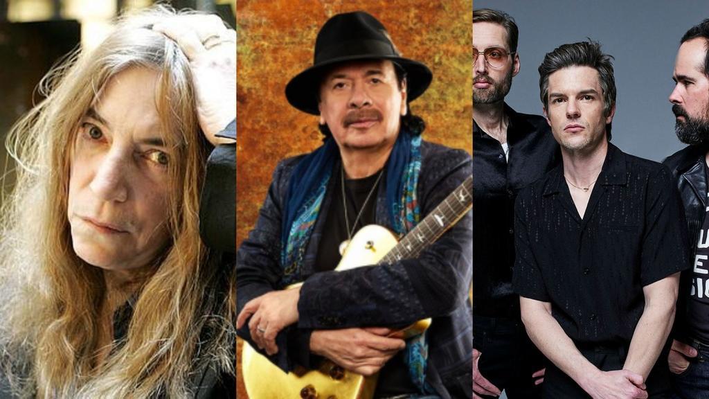 Megaconcierto une a Patti Smith, Carlos Santana y The Killers