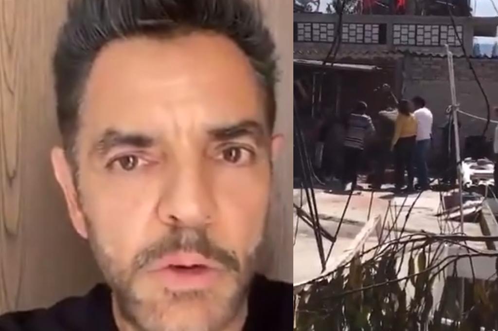 'Son un peligro para la sociedad'; Eugenio Derbez exige justicia por perro asesinado en Tlalnepantla