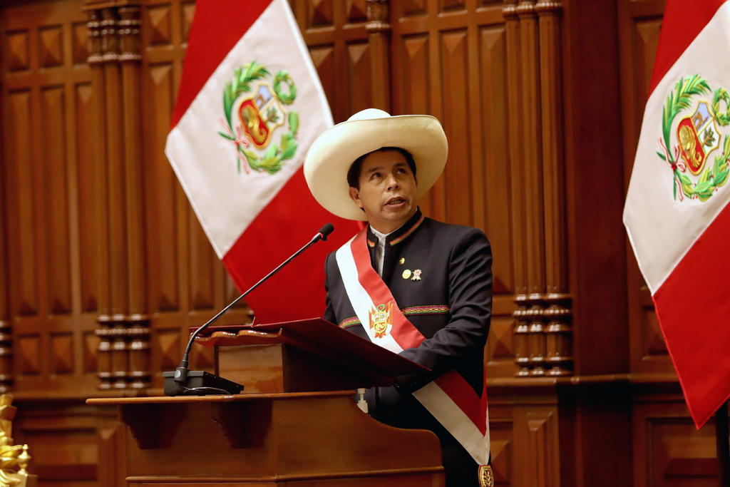 El presidente Pedro Castillo quiere convertir el Palacio de Gobierno de Perú en un museo nacional