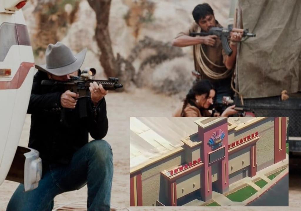 Registran tiroteo en cine de California durante función de La Purga