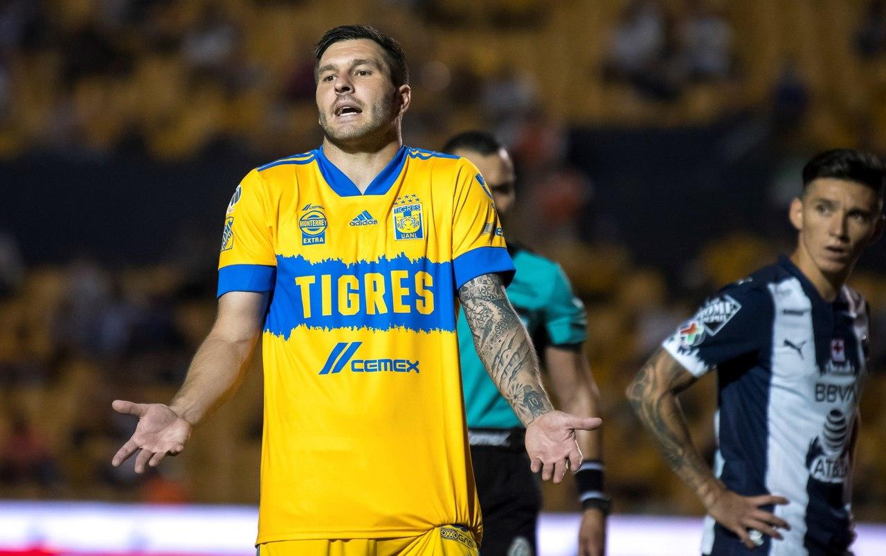 Gignac y Thauvin  reportan con Tigres