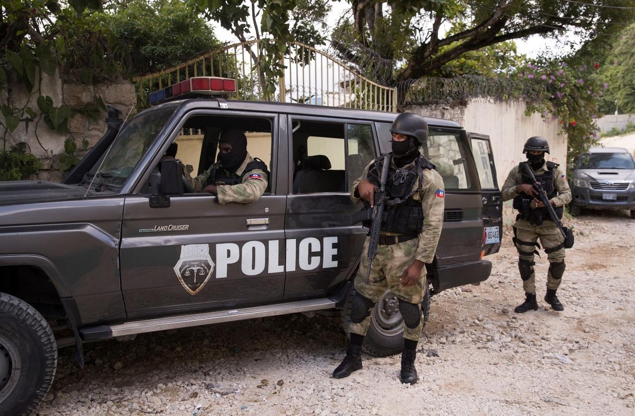Cae otro policía por magnicidio en Haití