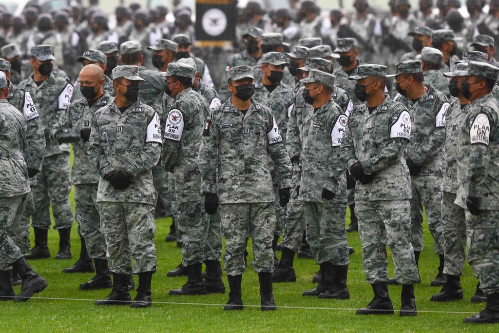 La Guardia Nacional eleva riesgos de 'profundizar militarización' en México
