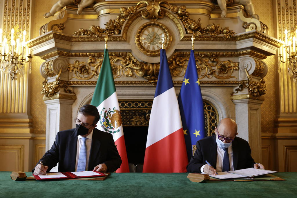 Francia y México firman acuerdo contra el tráfico de artefactos históricos