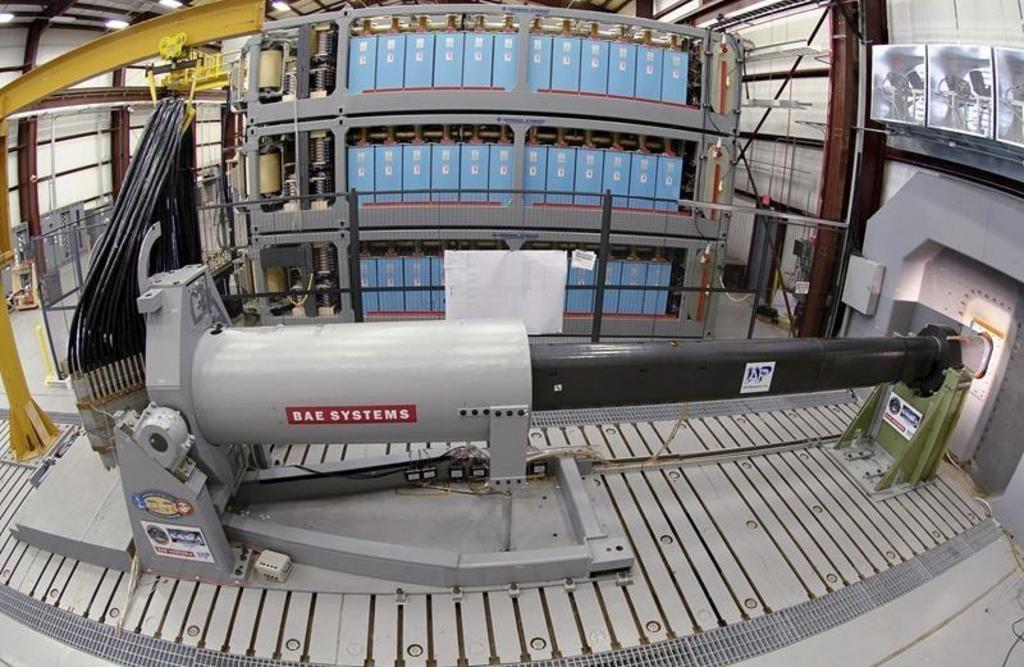 La Armada de Estados Unidos suspende proyecto de cañón futurista