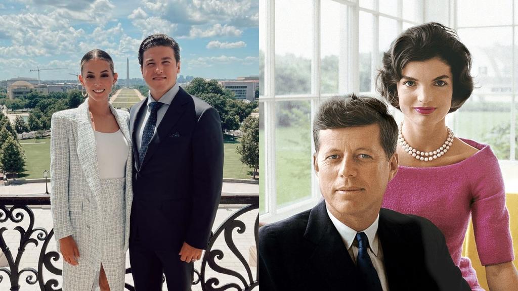 Mariana Rodríguez y Samuel García 'recrean' momento de JFK y Jackie