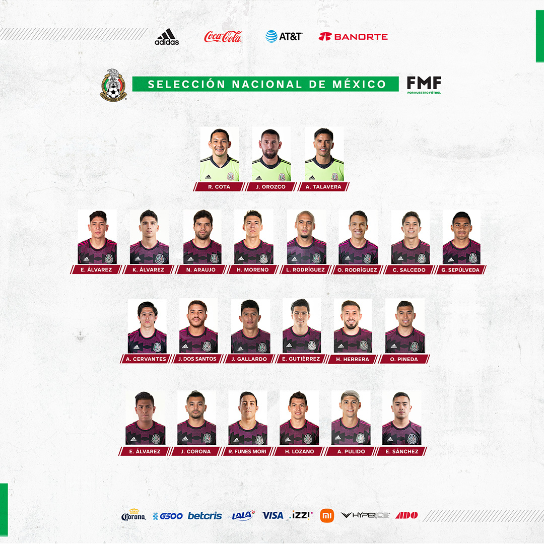 México revela la lista oficial para la Copa Oro; va Alan Cervantes del Santos Laguna